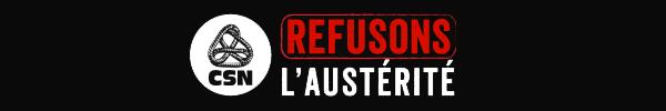 Refusons l'austerité
