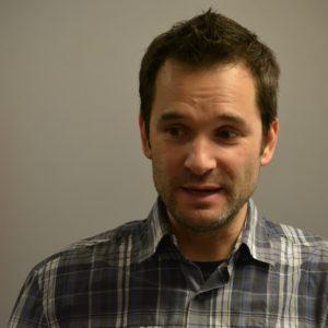 François Grimard, coprésident du syndicat CSN des éducateurs, des professionnels et des techniciens de l'Institut universitaire en santé mentale de Québec.